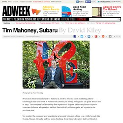 Tim Mahoney, Subaru