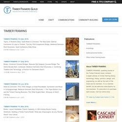 Timber Framers Guild