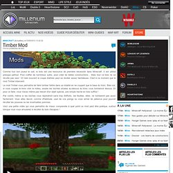 Timber Mod - Minecraft
