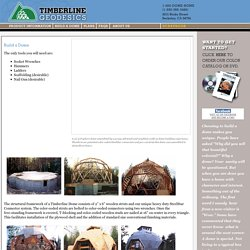 Timberline Geodesics