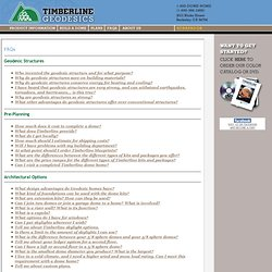 Timberline Geodesics