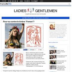 Pour ou contre le timbre «Femen»?