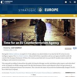 Time for an EU Counterterrorism Agency