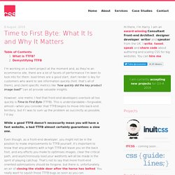 Time to First Byte: What It Is and Why It Matters