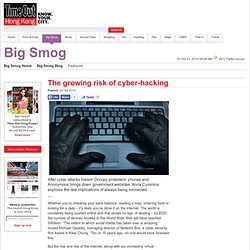 The growing risk of cyber-hacking
