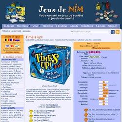 Time's up!: jeu de société chez Jeux de NIM