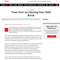 'Time-Outs' Are Hurting Your Child