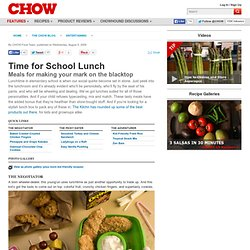 Time for School Lunch - Entertaining