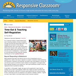 Time-Out & Teaching Self-Regulation