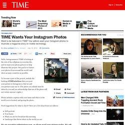 Wants Your Instagram Photos