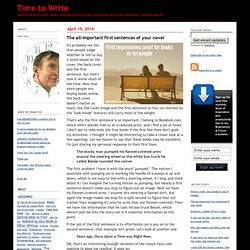 Time to Write: Writing methods