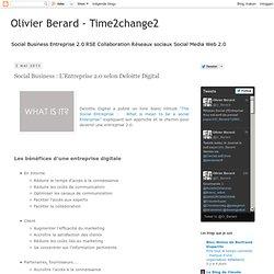 Social Business : L'Entreprise 2.0 selon Deloitte Digital