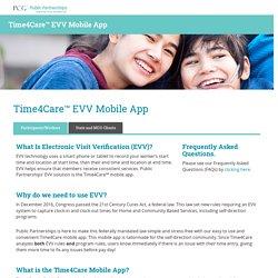Time4Care™ EVV Mobile App