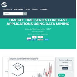 timekit: Time Series Forecast Applications Using Data Mining