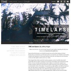Timelapse: Landsat Satellite Images of Climate Change, via Google Earth Engine
