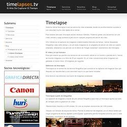 Qué es Timelapse