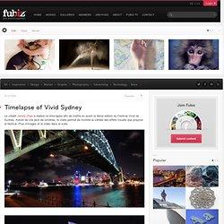 Timelapse of Vivid Sydney