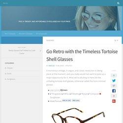 tortoise shell glasses mens