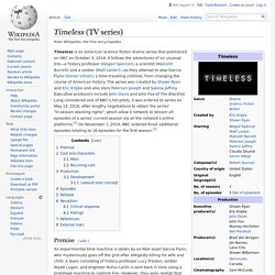 Timeless (TV series) - Wikipedia