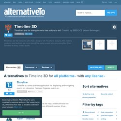 Timeline 3D Alternatives and Similar Software