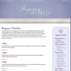 Regency Timeline Archives - CandiceHern.com