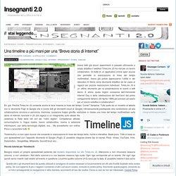 """Una timeline a più mani per una """"Breve storia di Internet"""""""