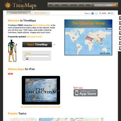 TimeMaps - World History TimeMap
