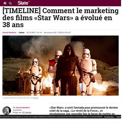 [TIMELINE] Comment le marketing des films «Star Wars» a évolué en 38 ans