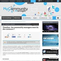 Timeline : les community managers sont-ils des conteurs ?