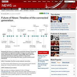 Future of News: Timeline of the connected generation