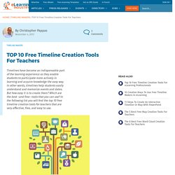 TOP 10 Free Timeline Creation Tools for Teachers
