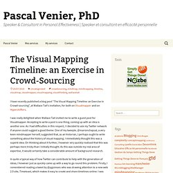 The Visual Mapping Timeline: an Exercise in Crowd-Sourcing