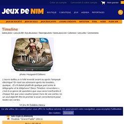 Timeline: jeu de société chez Jeux de NIM : classer dans l'ordre chronologique