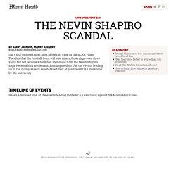 Timeline: The Nevin Shapiro scandal