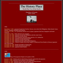 Timeline of Pacific War