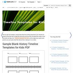 8+ Timeline Templates for Kids - DOC, PDF