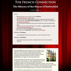 Timeline of the Rothschild family