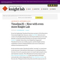 TimelineJS — Now with even more Knight Lab