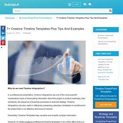 Top Creative Timeline Templates & Timeline Infographics