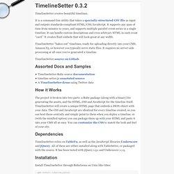 TimelineSetter