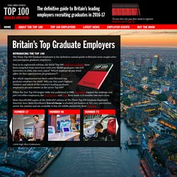 The Times Top 100 Graduate Employers 2011-2012