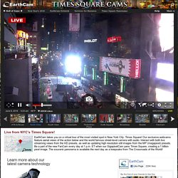 Times Square Cam - EarthCam