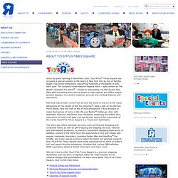 """Times Square - Toys""""R""""Us Corporate"""