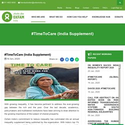 #TimeToCare (India Supplement)