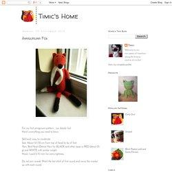 Timic's Home: Amigurumi Fox