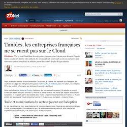 Timides, les entreprises françaises ne se ruent pas sur le Cloud