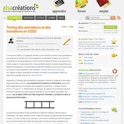 Timing des animations et des transitions en CSS3