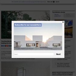 Timothee Mercier transforms rural French farm building into MA House