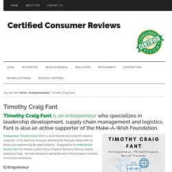 Timothy Craig Fant
