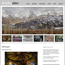 Timothy Allen - Photographer & Filmmaker